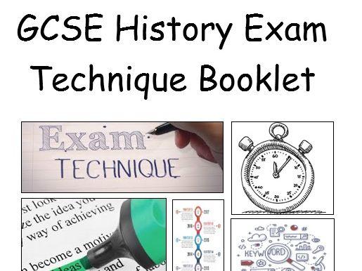 GCSE Edexcel 9-1 History Exam Technique Structures Booklet
