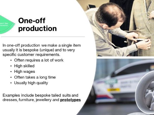 Product Design GCSE - 17 Scales of Production