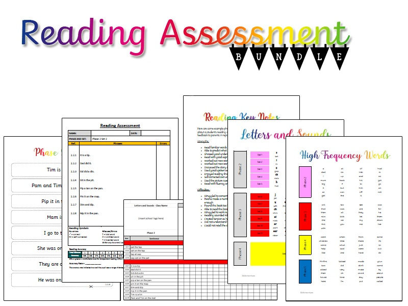 Reading Practise and Assessment - Pearson (Phases 2 and 3)