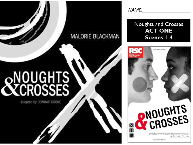 GCSE Drama Home Learning - Noughts and Crosses - AQA Scene 1-4