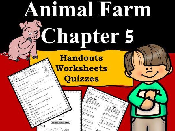 Animal Farm Ch5 PDF/Google Slides