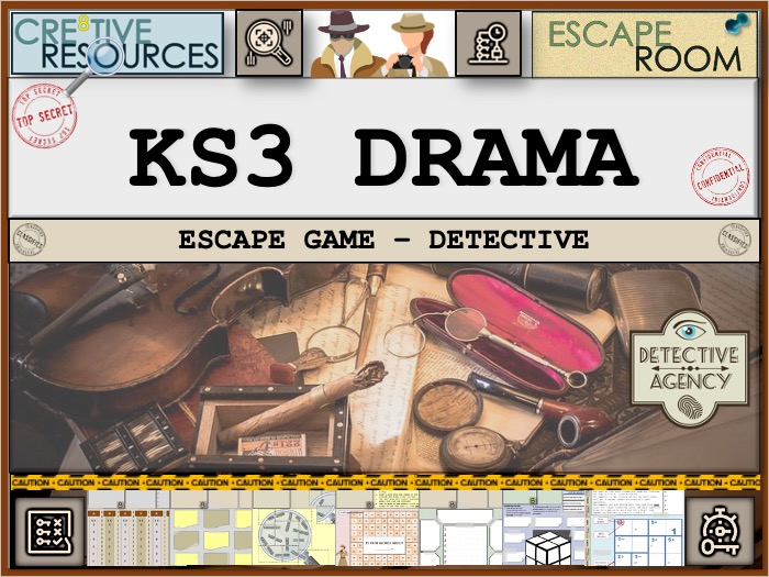 KS3 Drama Skills Escape Room
