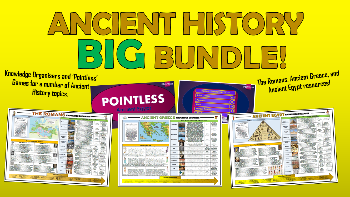 Ancient History Big Bundle!