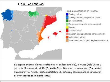 """La identidad regional en España"" New AQA A Level -Revision notes"
