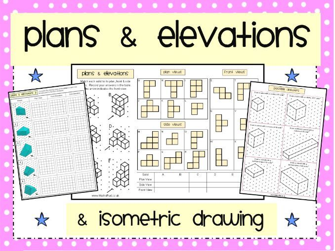 Plans & Elevations Matching Activity & More
