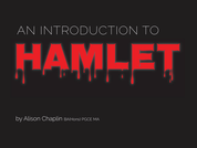 US Shakespeare Unit: an introduction to the story of Hamlet through drama
