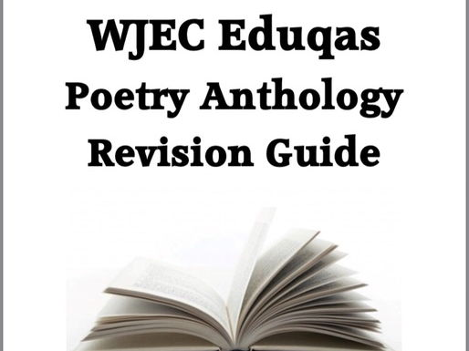 EDUQAS 9-1 English Literacture Poetry Anthology Revision Guide