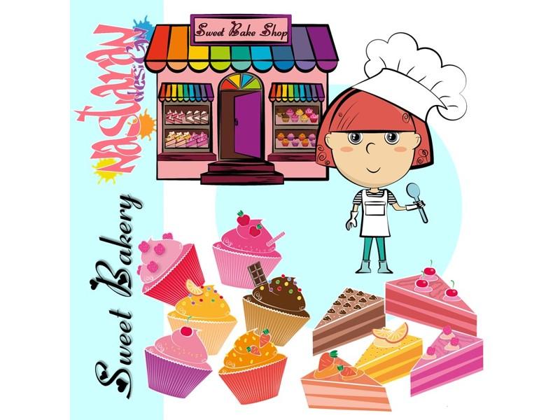 Sweet Bakery Clip Art