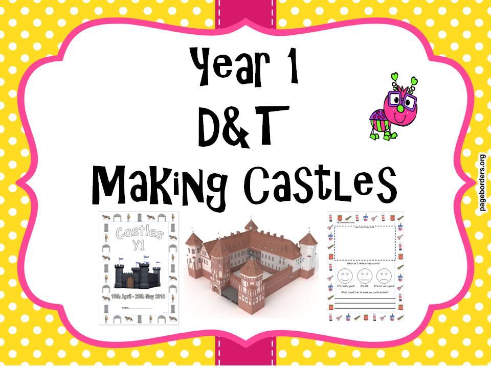 Year 1 Making Castles