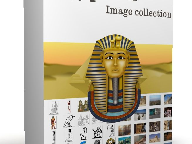 Egypt themed image collection. Over 100 Egyptian themed royalty free images for powerpoints, workshe