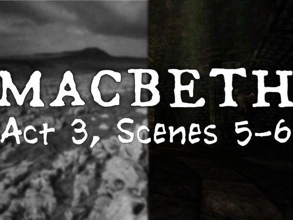 Line by Line: Macbeth (3.5-6)