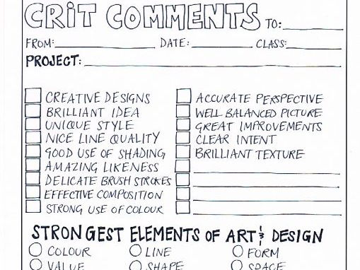 Art Assessment & Evaluation
