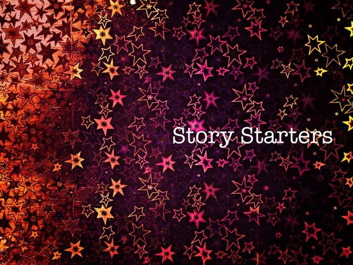 Six Story Starters for KS2/3