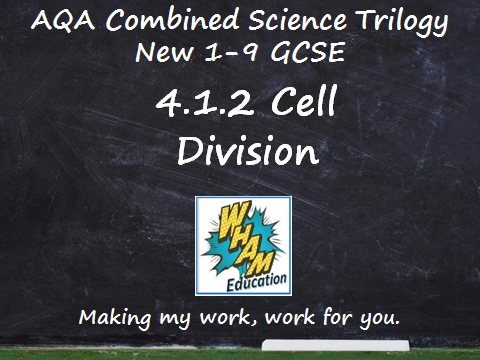 AQA Combined Science Trilogy: 4.1.2 Cell Division