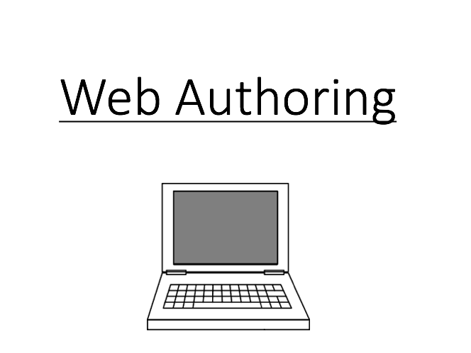 Web Authoring Lesson