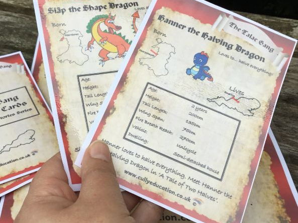 Dragon World Cards and Maths Activities