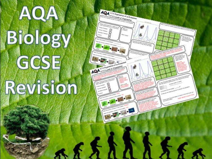 4.7.2 Levels of Organisation, Quadrats & Transects - NEW AQA Trilogy (Biology) Revision with Answers