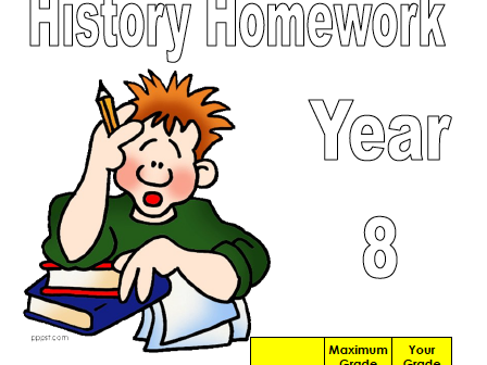 Homework Booklet (Year 8)