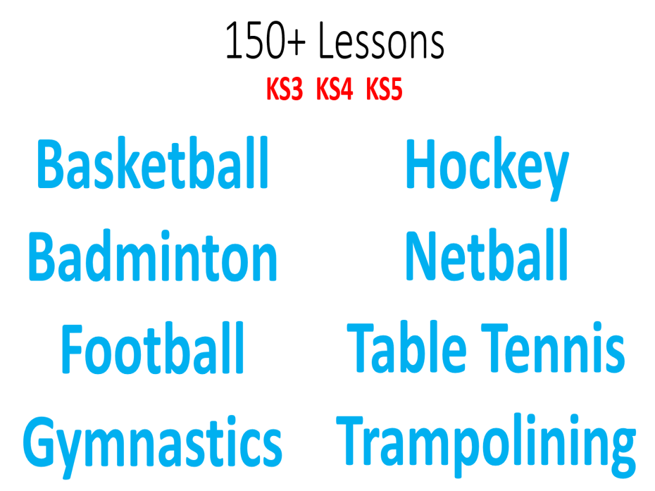 PE Teacher Starter Pack - 150+ Lessons