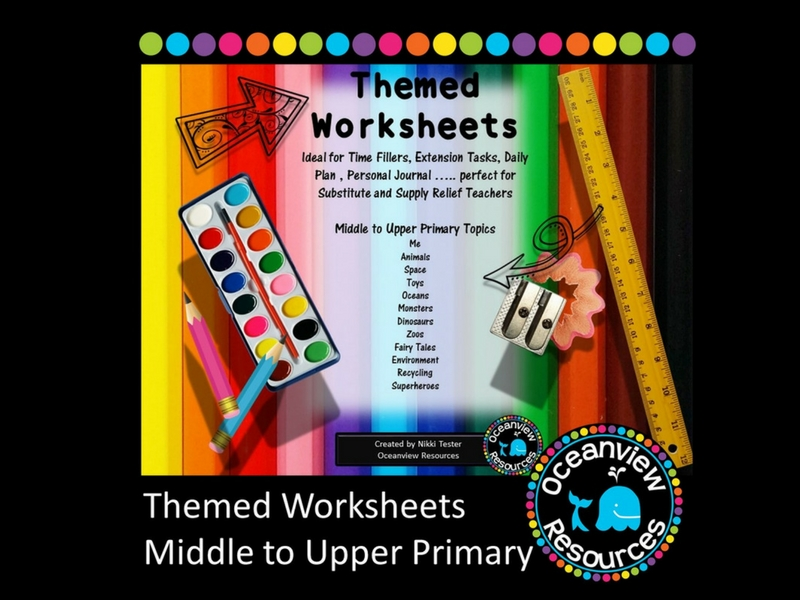 Themed Mini Units of Work -Years 3-6