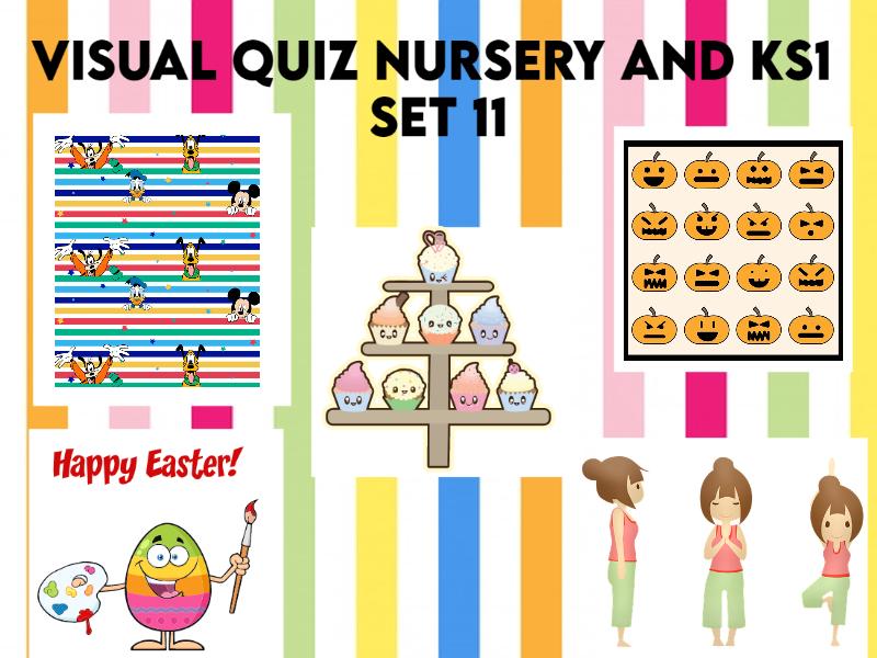 Visual Quiz for Nursery and KS1 Set 11