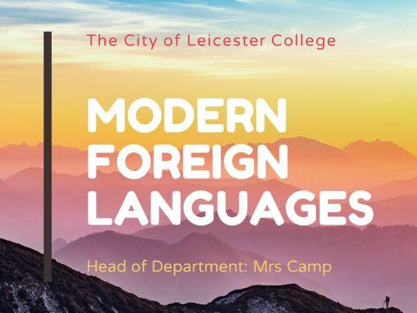 GCSE Options presentation MFL Languages