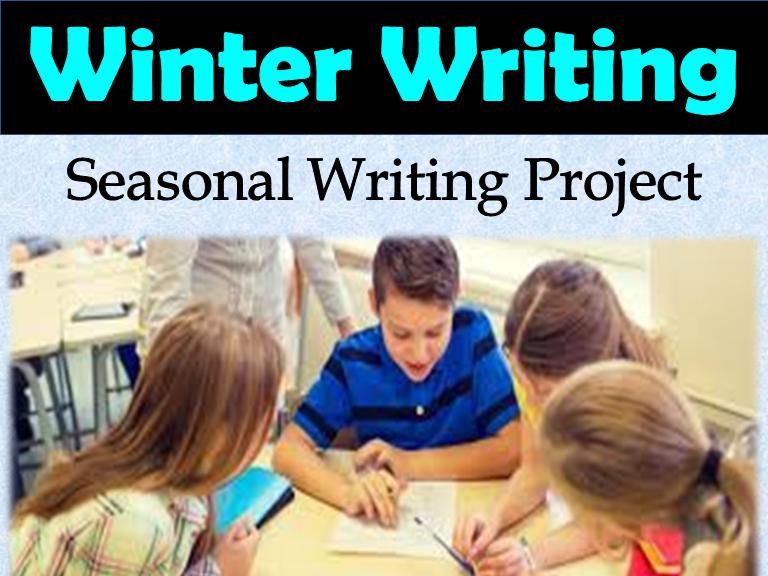 Winter Writing Story: Writing Assignment: Winter Writing Activity: Fun, Interact