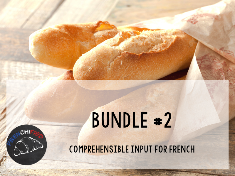 CI Video for French learners - Bundle #2