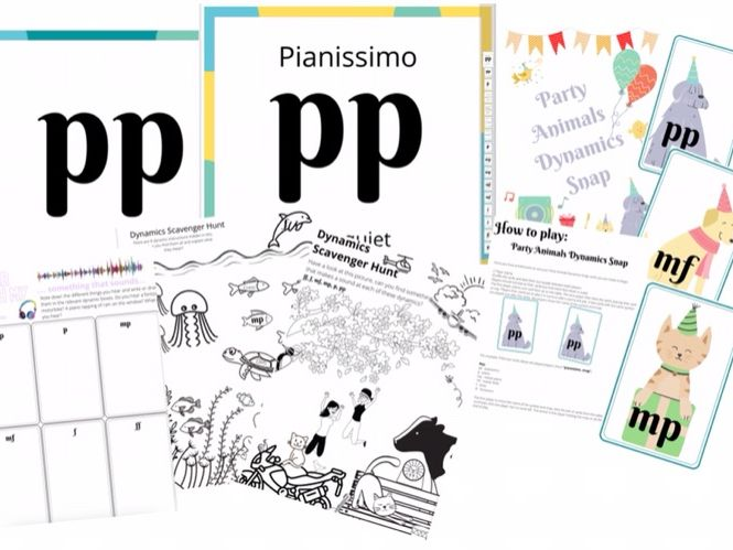 Dynamics learning pack, worksheet and display poster