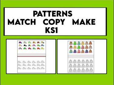 Pattern Match  Copy  Make  KS1
