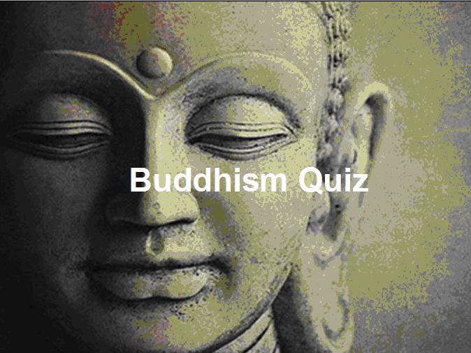 General Buddhism Quiz