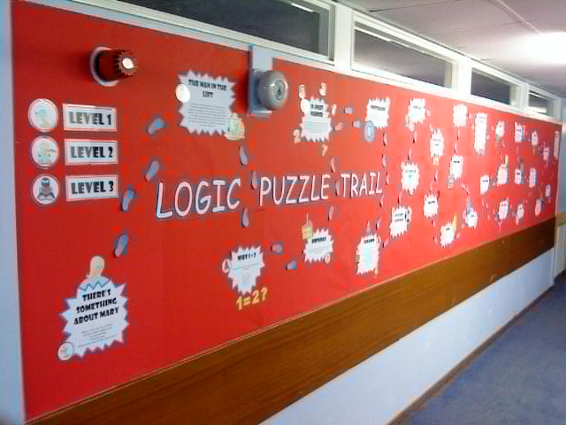 Logic Puzzle Trail - Full Display Materials - Maths/Logic/Fun Competition/Puzzles - Captain Pi!