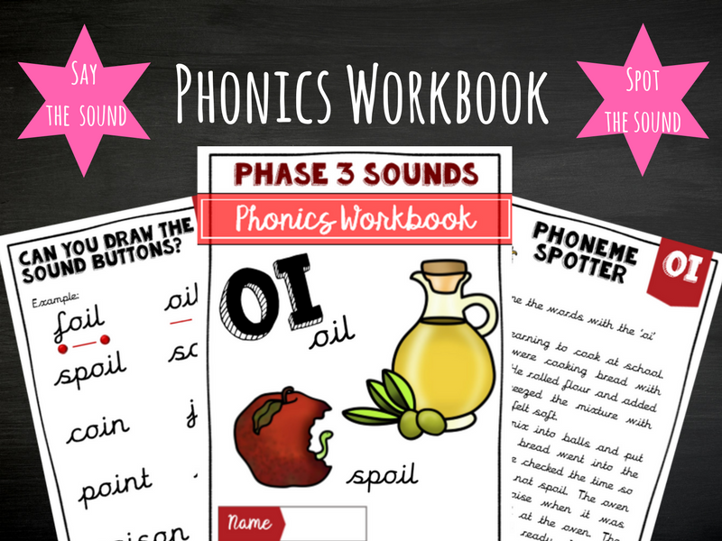 'oi' Phonics Workbook