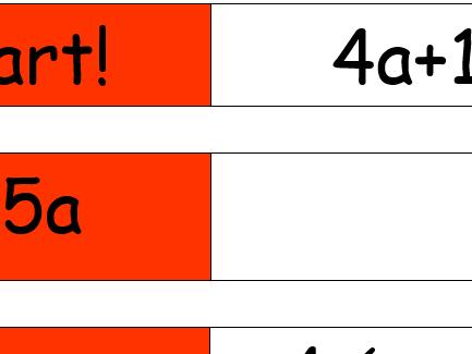 Algebra Domino Game