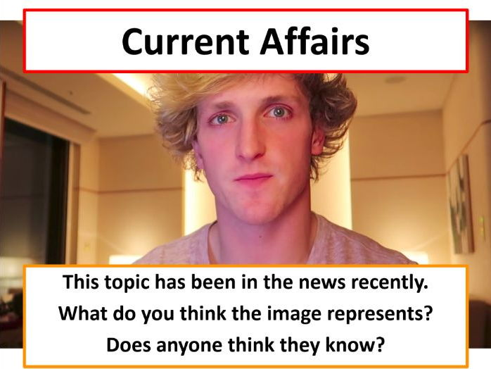 Current Affairs Form Time Activity - YouTube Controversy