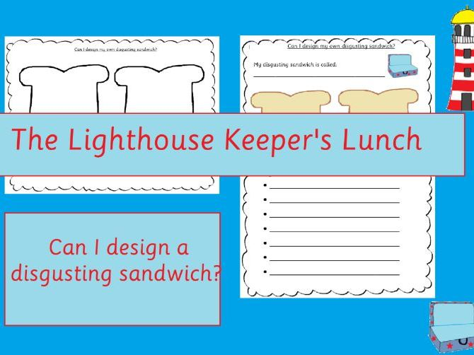 The Lighthouse Keeper's Lunch Sandwich Design