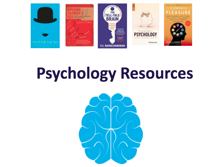 Psychology Resource Booklet / Wider Reading