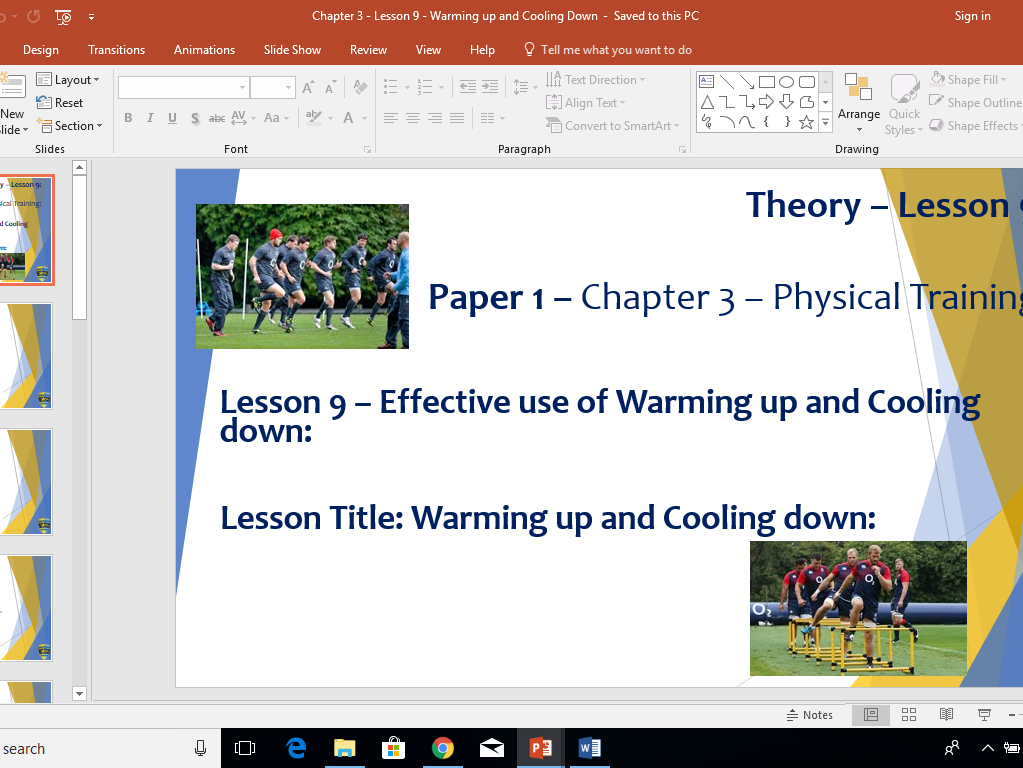 AQA GCSE PE (New Specification) Chapter 3: Physical Training - Whole Chapter Resource