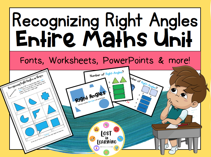 Year 3/4: Recognising Right Angles (Entire Unit)