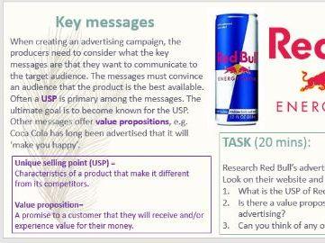 CTEC Digital Media Level 3 COMPLETE Unit 20 Advertising
