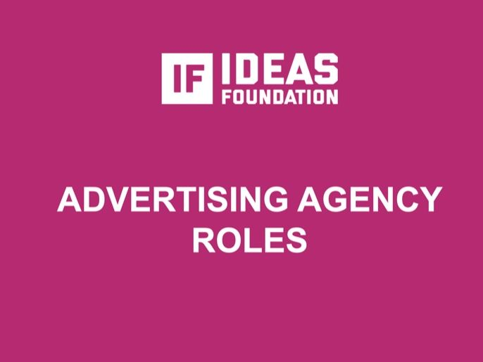 Advertising Agency Roles