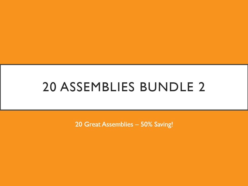 The 20 Assemblies Bundle 2