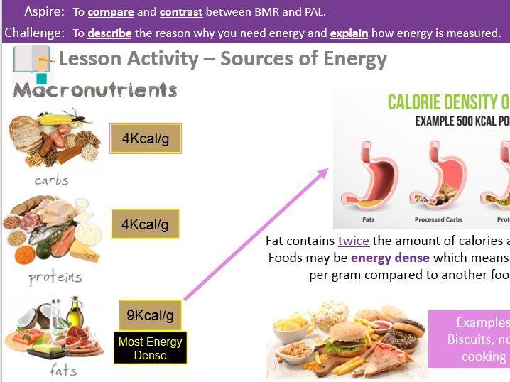 Energy Needs