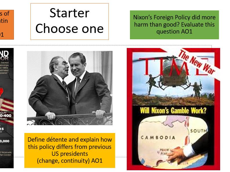 Nixon: Latin America and Detente