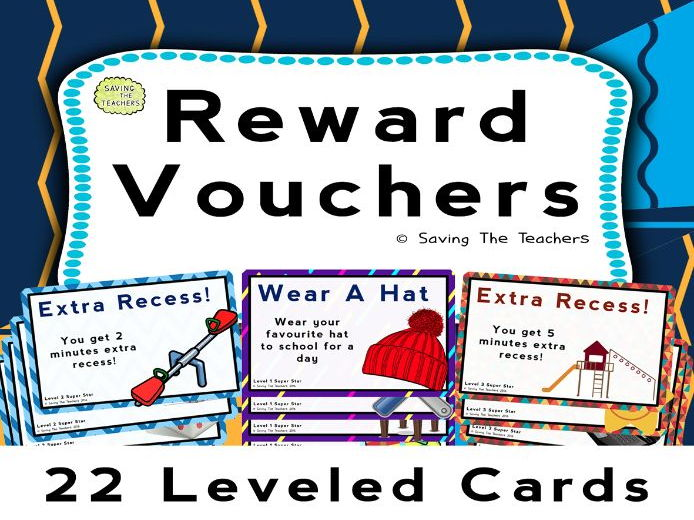 Classroom Management: Reward Vouchers