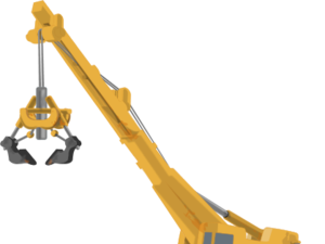 Mechanical crane