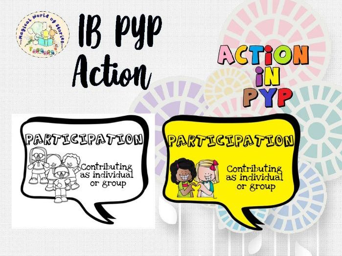 Action in IB PYP