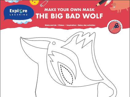 Free World book day create your own mask activities