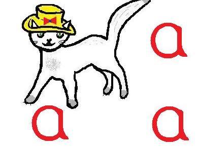 Cats, bats, hats - 4 Phonic Writing Sheets