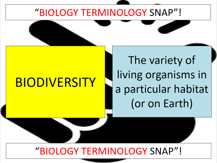 Topic 18.1: Biodiversity (CIE A-level Biology)
